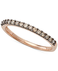 Diamond Band (1/4 ct. t.w.) in 14k Rose Gold