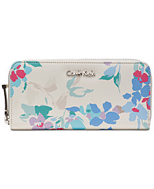 Calvin Klein Leather Zip Around Wallet