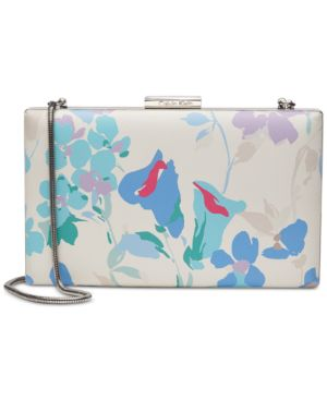 SMALL FLORAL CLUTCH