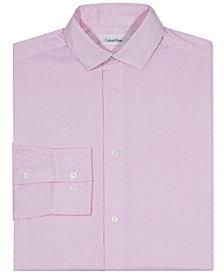 Calvin Klein Hexagon-Print Shirt, Big Boys