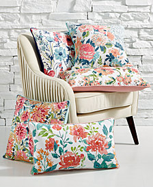 Lacourte Farm House Florals Decorative Pillow Collection, Created for Macy's