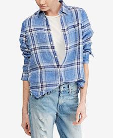 Polo Ralph Lauren Plaid Linen Shirt