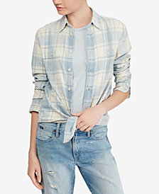 Polo Ralph Lauren Relaxed Fit Plaid Cotton Shirt