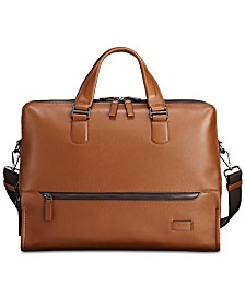 d04c314990 Tumi Men s Harrison Horton Double-Zip Leather Briefcase