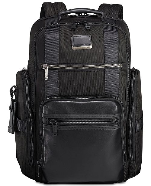 62b3bc726 Tumi Men's Alpha Bravo Sheppard Deluxe Backpack & Reviews - All ...