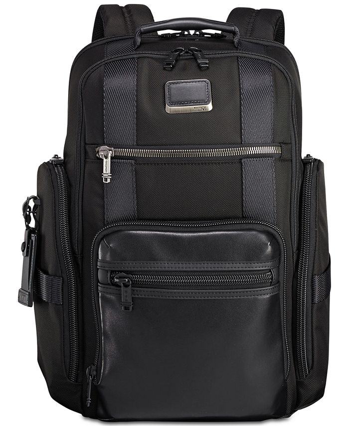 TUMI - Men's Alpha Bravo Sheppard Deluxe Backpack