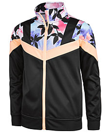 Ideology Floral-Print Track Jacket, Big Girls, Created for Macy's