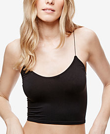 Free People Skinny-Strap Cropped Cami