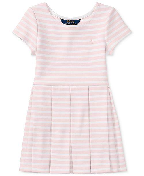 a3982010680b8 ... Polo Ralph Lauren Ralph Lauren Striped Fit & Flare Dress, Toddler Girls  ...