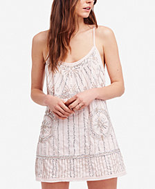 Free People Sedona Embellished Slip Dress