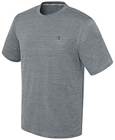 Champion Men's Double Dry Heathered Mesh T-Shirt