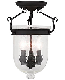 Livex Jefferson 3-Light Flush Mount