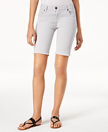 Kut from the Kloth Natalie Denim Bermuda Shorts