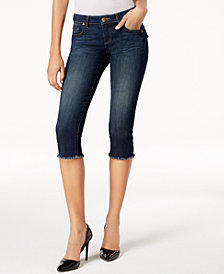 Kut from the Kloth Nataile Frayed Cropped Jeans