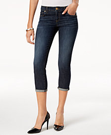Kut from the Kloth Petite Maggie Cropped Skinny Jeans