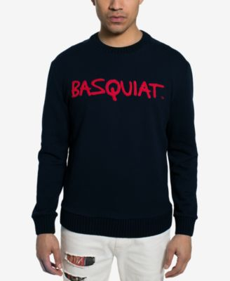 Men's Basquiat Tricolor Chenielle Sweater, Created for Macy's