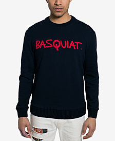 Sean John Men's Basquiat Tricolor Chenielle Sweater, Created for Macy's