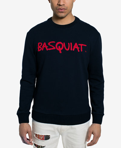 Sean John Men's Basquiat Tricolor Chenielle Sweater, Created for Macy's