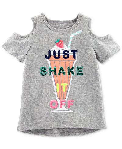 Carter's Shake It Off Cotton T-Shirt, Little & Big Girls