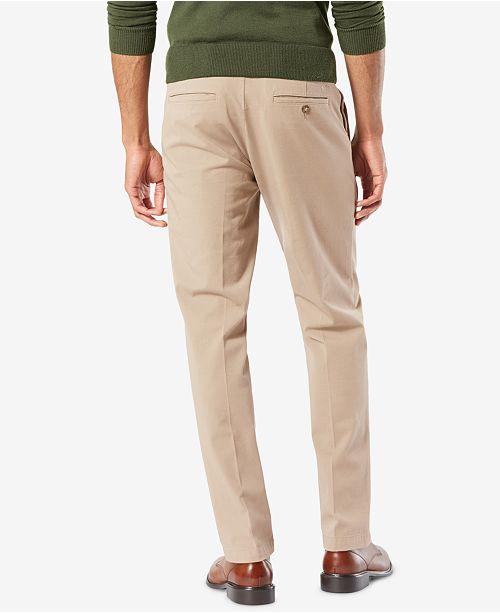 f7cdf0d27584 ... Dockers Men s Workday Slim Fit Smart 360 Flex Khaki Stretch Pants ...
