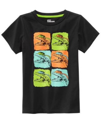 Dinosaur Graphic-Print T-Shirt, Little Boys, Created for Macy's