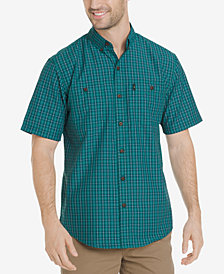 G.H. Bass & Co. Men's Explorer Fancies Yarn-Dyed Plaid Performance Shirt