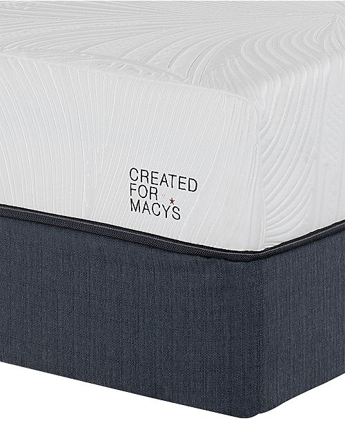 "Macybed Lux Barton 10"" Cushion Firm Memory Foam Mattress Set - Full, Created for Macy's"