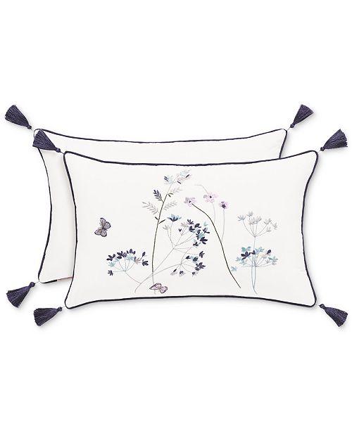 "Piper & Wright Betsy White Boudoir 12"" x 20"" Decorative Pillow"