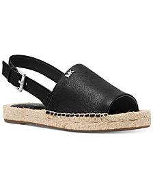 MICHAEL Michael Kors Fisher Espadrille Flat Sandals