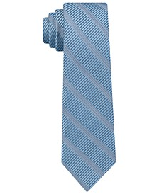 Men's Sky Line Silk Slim Tie