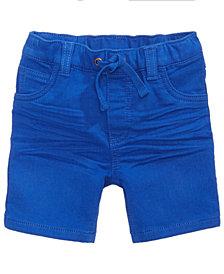 First Impressions Denim Shorts, Baby Boys, Created for Macy's