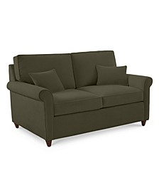 """Lidia 62"""" Fabric Loveseat, Created for Macy's"""