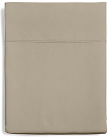 Hotel Collection Supima Cotton 825-Thread Count Queen Flat Sheet, Created for Macy's