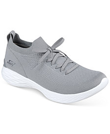 Skechers Women's 4 YOU - Shine Casual Walking Sneakers from Finish Line