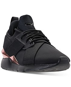 a152a437d507 Puma Women's Muse Metallic Casual Sneakers from Finish Line