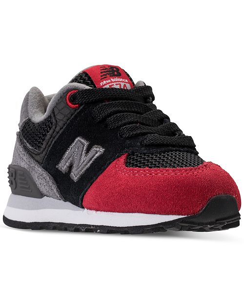 cheap for discount f7eed eb17f ... New Balance Toddler Boys  574 Serpent Lux Casual Sneakers from Finish  ...
