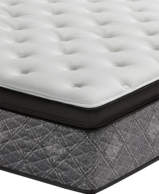 """MacyBed by  Elite 14.5"""" Plush Euro Pillow Top Mattress -Twin, Created for Macy's"""