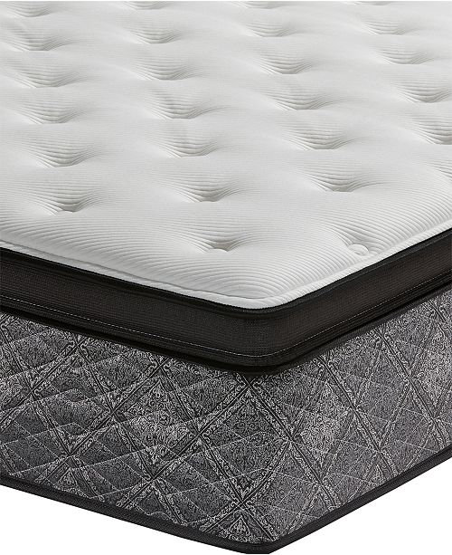 Macybed By Serta Elite 145 Plush Euro Pillow Top Mattress Queen