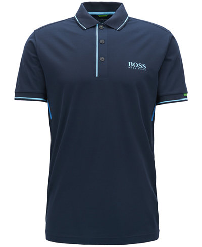 BOSS Men's Slim-Fit Tipped Polo