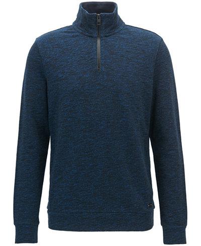 BOSS Men's Half-Zip Sweater