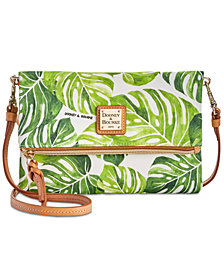 Dooney & Bourke Palm Montego Foldover Small Crossbody