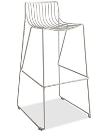 CLOSEOUT! Lewis Iron Bar Stool, Quick Ship