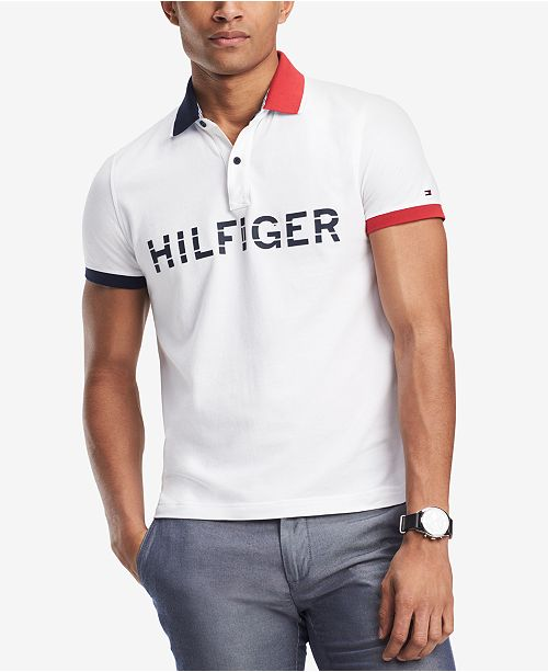 3098b952 Tommy Hilfiger Men's Big & Tall Mario Polo Shirt & Reviews - Polos ...