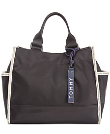 Tommy Hilfiger Nylon East West Tote