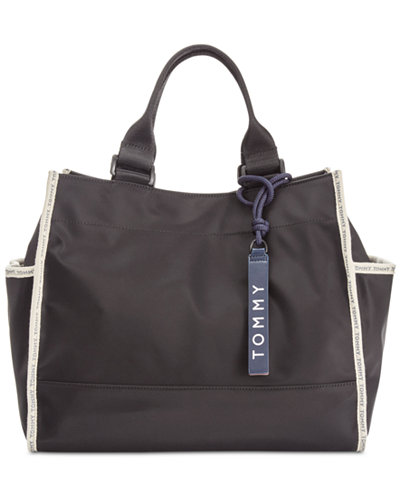 Tommy Hilfiger Nylon East West Extra-Large Tote