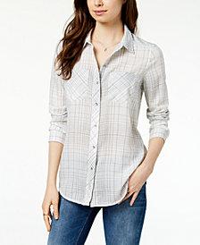 Calvin Klein Jeans Plaid Shirt