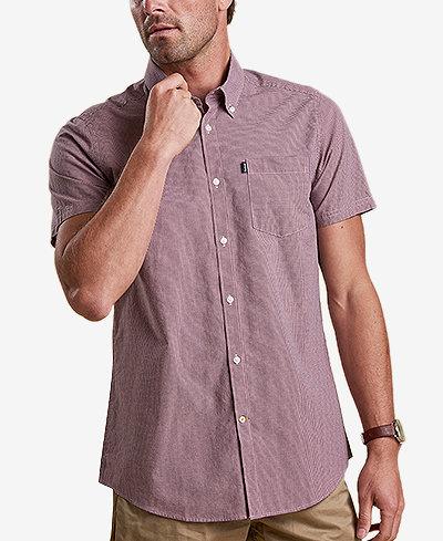 Barbour Men's Triston Gingham Pocket Shirt