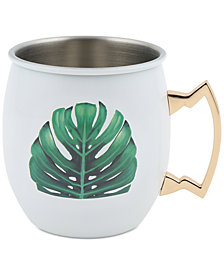 CLOSEOUT! Thirstystone Palm Leaf Moscow Mule Mug