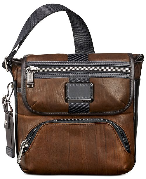 5cd9bbf9bf2 Tumi Men s Alpha Bravo Barton Crossbody Bag - All Accessories - Men ...