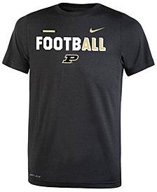 Nike Purdue Boilermakers Legend Football T-Shirt, Big Boys (8-20)